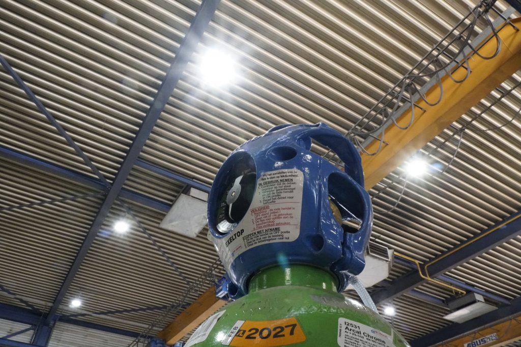 Gasfles Werkplaats Karhof Compaan bestebak.nl SmiLED Lighting