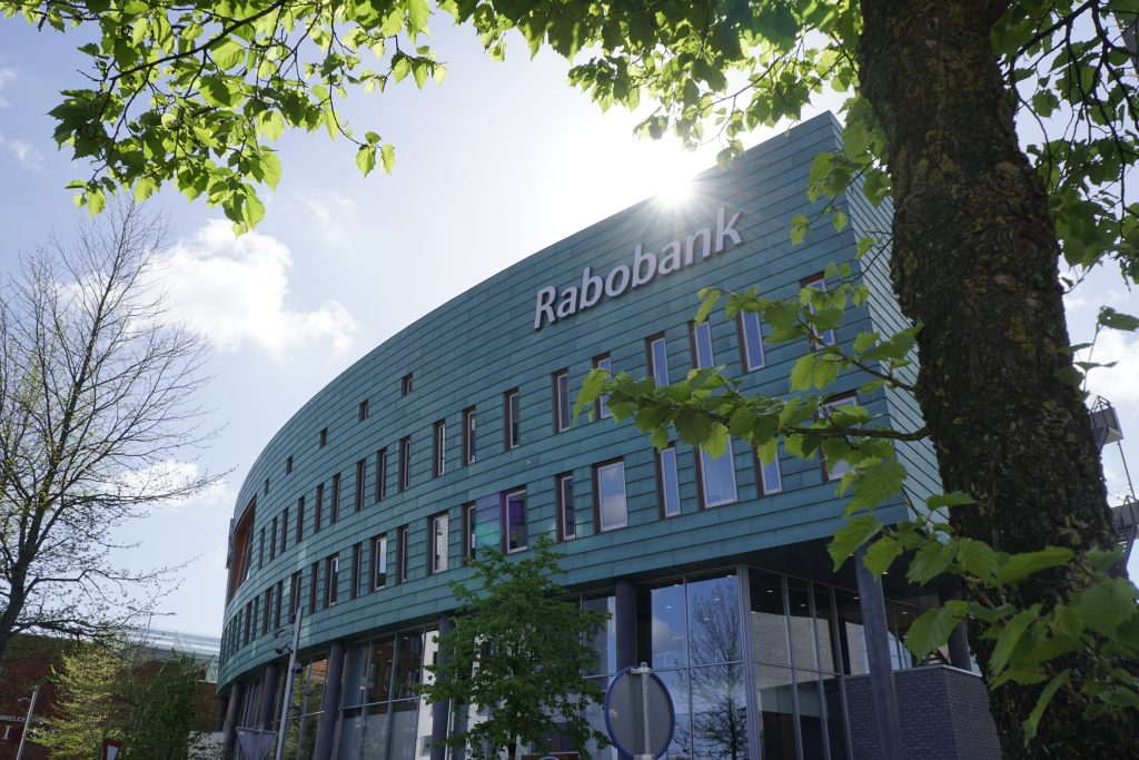 Rabobank A&ND, buitenaanzicht zon (SmiLED Lighting bv, 2018)