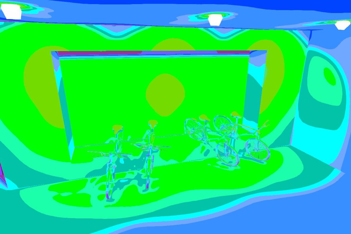 1 lichtplanning kleur Egberts Fietsen SmiLED Lighting