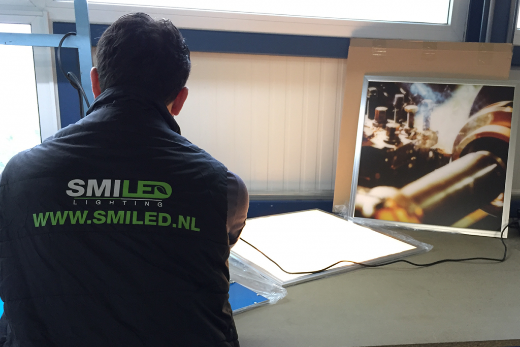 Led-Fotopanelen maken SmiLED Lighting