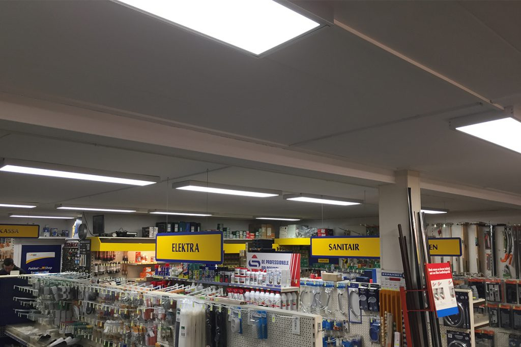 Tissingh zuidlaren winkel binnen SmiLED Lighting