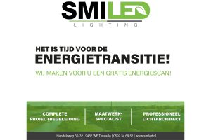 Energietransitie SmiLED Lighting BV ledverlichting