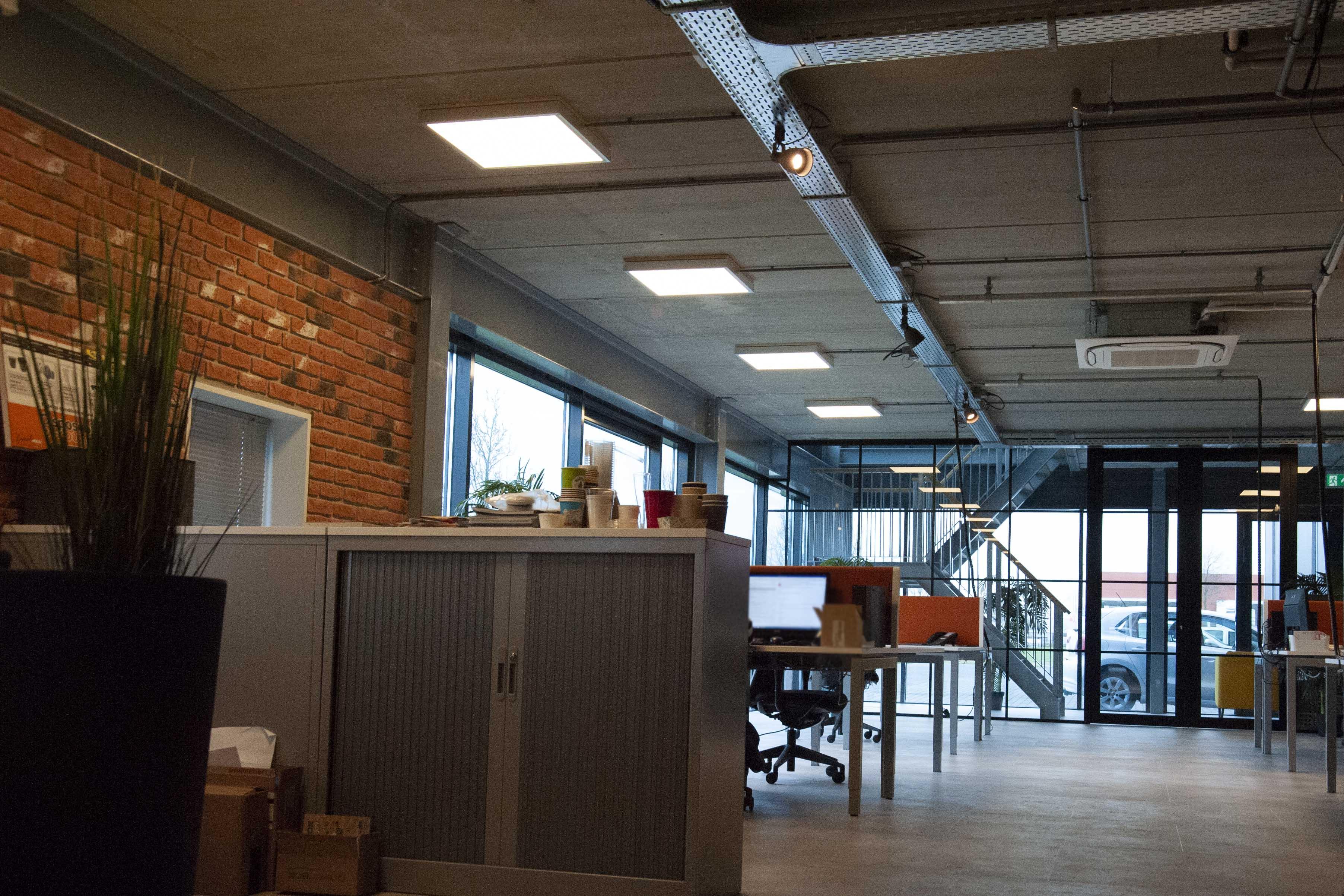 Kantoor leroux led-panelen SmiLED Lighting